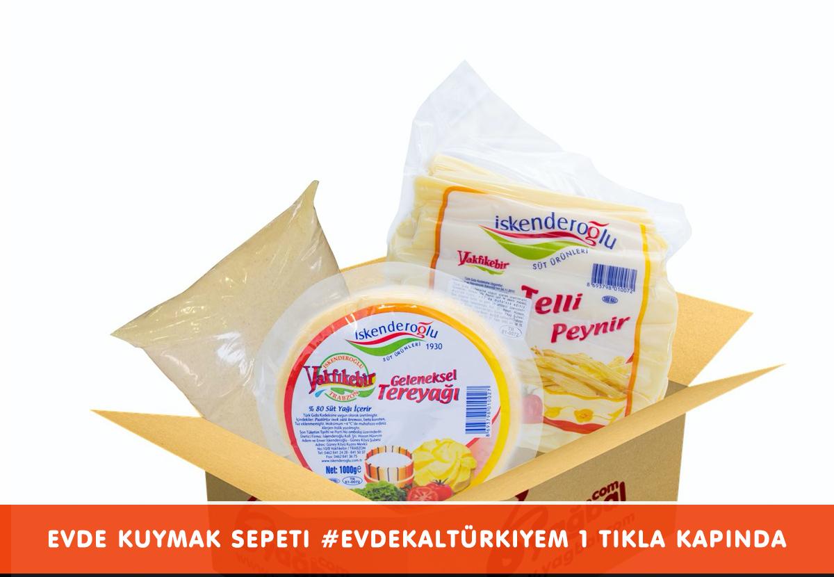 Evde Kuymak Sepeti